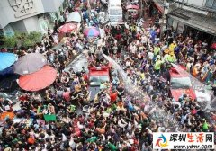 2017年泰国泼水节是几月几号?2017年泰国泼水节哪里热闹?