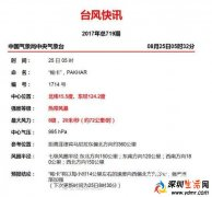 """2017台风""""帕卡""""最新消息:台风""""帕卡""""对深圳的影响"""