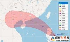 """第14号台风""""帕卡""""什么时候登陆?台风帕卡影响范围"""