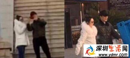 赵丽颖孕期近照曝光,整个人圆润了不少,冯绍峰也变成了幸福胖